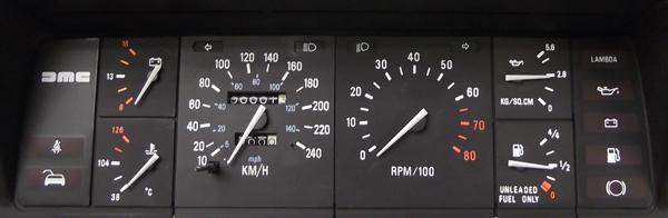 Speedometer and Speedometer Failure - DeLorean Motor Company